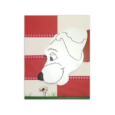 wandbord hondje4