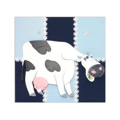 wandbord koe