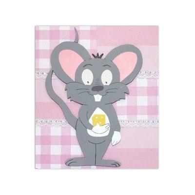 wandbord muis