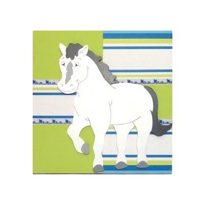 wandbord paard3