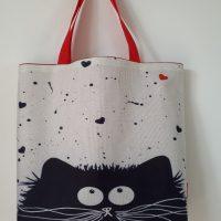 shopper - tas ' Black cat '