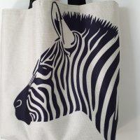 Tas - shopper ' Zebra '