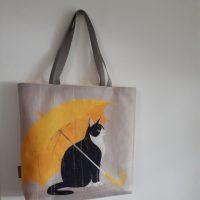 shopper ' Rain cat '