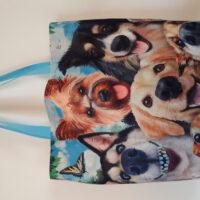 tas/shopper ' cartoon Dogs '