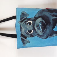 tas / shopper 'cartoon hond '